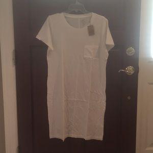 NWT JCrew Tee Shirt Dress Size Large